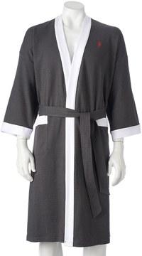 Jockey Big & Tall Waffle-Weave Kimono Robe