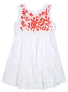 Design History Little Girl's Sleeveless Floral Dress