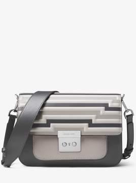 MICHAEL Michael Kors Sloan Editor Tri-Color Leather Shoulder Bag