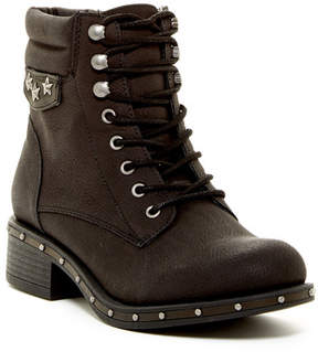 Rock & Candy Joli Studded Military Boot