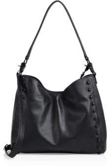 Loeffler Randall Mini Studded Leather Shoulder Bag
