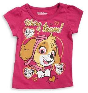 Nannette Little Girl's Paw Patrol Graphic Cotton Tee