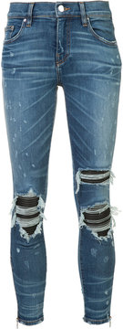 Amiri ripped super skinny jeans
