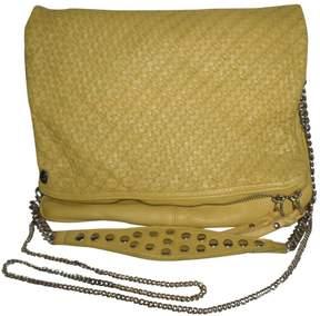 Zadig & Voltaire Rock Yellow Leather Handbag