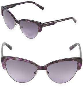 Vera Wang Women's 57MM Butterfly Sunglasses