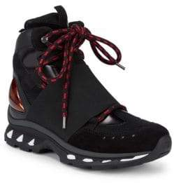 Givenchy Wide-Band High-Top Sneakers