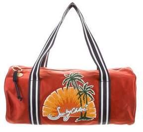 See by Chloe Andy Tropical- Appliquéd Duffel Bag