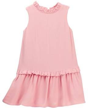 Kate Spade ruffled collar dress (Toddler & Little Girls)
