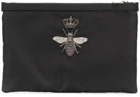 Dolce & Gabbana bee patch clutch