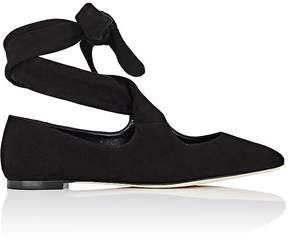 The Row Women's Elodie Suede Flats