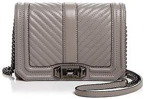 Rebecca Minkoff Love Chevron Quilted Small Leather Crossbody