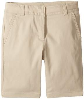 Nautica Girls Plus Twill Skinny Bermuda Shorts Girl's Shorts