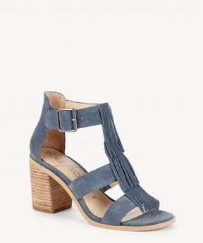 Sole Society Delilah fringe heeled sandal