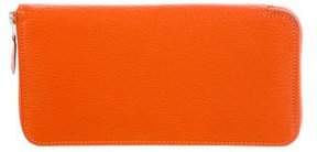 Hermes 2015 Epsom Azap Wallet - ORANGE - STYLE