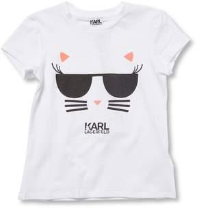 Karl Lagerfeld Little Girl's Graphic T-Shirt