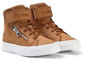 Hummel Stadil Zip Oiled Jr Glazed Ginger