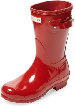 Hunter Women's Original Short Gloss Wellington Boot