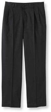 L.L. Bean Washable Year-Round Wool Pants, Classic Fit Pleated