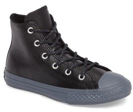 Converse Boy's Chuck Taylor All Star Leather High Top Sneaker