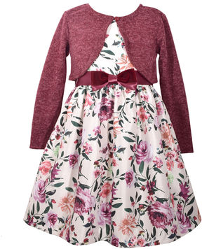 Bonnie Jean Sleeveless Cap Sleeve Party Dress - Big Kid Girls Plus