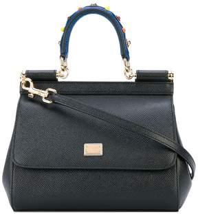 Dolce & Gabbana mini Sicily shoulder bag - BLACK - STYLE