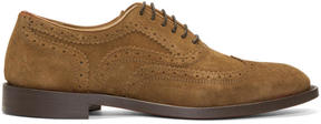 H By Hudson Tan Suede Heyford Brogues