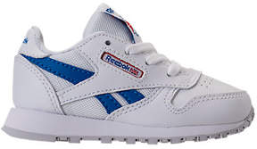 Reebok Boys' Toddler Classic Leather SO Casual Shoes