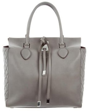 Michael Kors Large Miranda Quilted Tote - GREY - STYLE