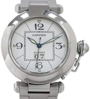 Cartier Pasha C W31055M7 Stainless Steel Automatic 35mm Mens Watch