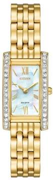 Citizen EX1472-56D Stainless Steel Silhouette Womens Eco-Drive Watch