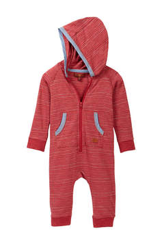 7 For All Mankind Hooded Coverall (Baby Boys)