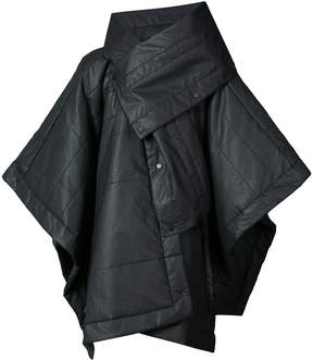 Barbara I Gongini asymmetric windbreaker coat