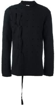 Damir Doma perforated sweatshirt