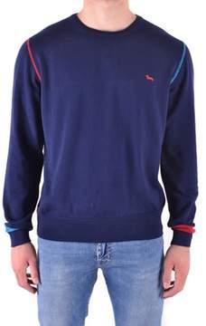 Harmont & Blaine Men's Blue Cotton Sweatshirt.