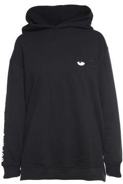 Chiara Ferragni Cute Crazy Hooded Cotton-blend Sweatshirt
