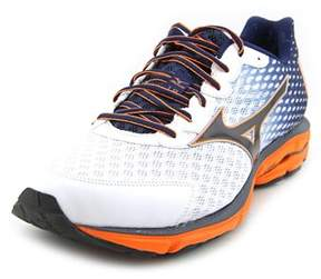 Mizuno Wave Rider 18 2e Round Toe Synthetic Running Shoe.