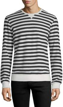 Orlebar Brown Men's Terry Towel Breton Stripe Sweater
