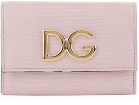 Dolce & Gabbana Logo French Flap Wallet - MULTI - STYLE