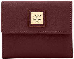 Dooney & Bourke Belvedere Small Flap Wallet - BURGUNDY - STYLE