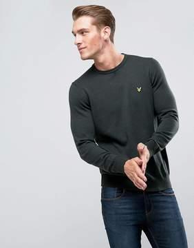 Lyle & Scott Merino Mix Sweater Khaki