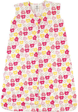Luvable Friends Fuchsia & Yellow Floral Sleeping Sack - Newborn & Infant