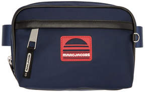 Marc Jacobs Navy Sport Belt Pouch