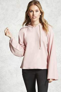 Forever 21 Contemporary Bell Sleeve Hoodie