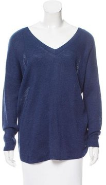 Loro Piana Ribbed V-Neck Sweater