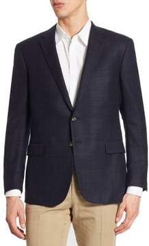 Ralph Lauren Nigel Regular-Fit Plaid Wool Sportcoat