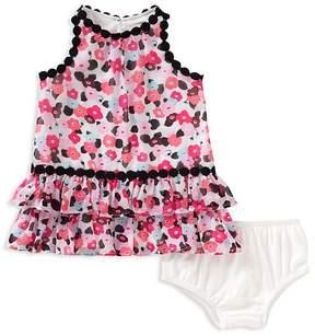 Kate Spade Girls' Blooming Floral Dress & Bloomers Set - Baby