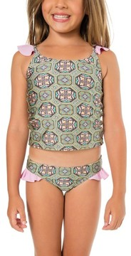 O'Neill Toddler Girl's Evelyn Two-Piece Tankini Swimsuit