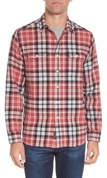 Grayers Men's Brampton Textured Plaid Flannel Shirt