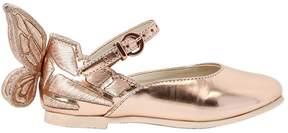 Sophia Webster Chiara Mini Metallic Leather Shoes