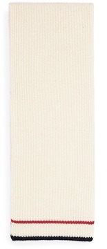 MAISON KITSUNÉ Baby alpaca-Merino wool knit scarf